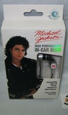michael jackson in ear  ear buds use with ipod iphones mp3 player ear buds
