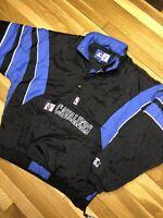Vintage 90s Cleveland Cavaliers STARTER Pullover Jacket CAVS Retro MENS XL coat