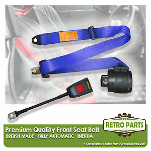 Front Automatic Seat Belt For Lotus Elan S4 Coupe 1966-1973 Blue