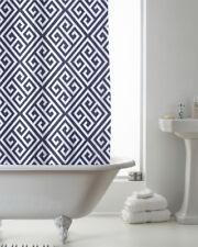 Country Club Shower Curtain 180x180 Deco Indigo Modern Art Bathroom Contemporary