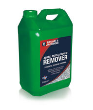 S&J 5L Algae, Moss and Mould remover Ready to use formula