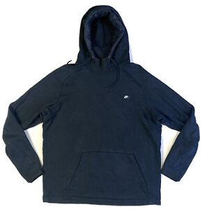 Nike Hoodie Black Pullover Jumper Size XL Mens Sweater
