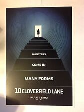 10 CLOVERFIELD LANE (LOT OF 3) POSTERS AMC IMAX 9x13 JOHN GOODMAN*