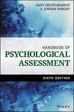 Handbook of Psychological Assessment by A. Jordan Wright, Gary Groth-Marnat (Har