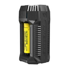 NITECORE V2 2-Channel 6A In-Car Fast Battery Charger for 18650 16340 14500 26650