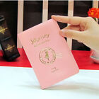Cute Passport Holder Cover Case Protector Leather Travel Wallet Organizer