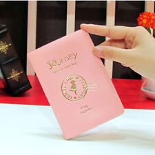 Cute Passport Holder Cover Case Protector PU Leather Travel Wallet Organizer AJR