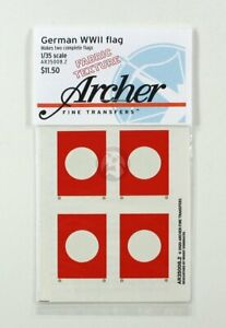 Archer 1/35 Nationalflagge German National Flag 1933-45 WWII [Fabric] AR35008.2