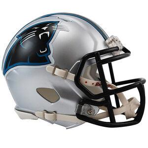 Carolina Panthers Riddell NFL Mini Speed  Football Helmet