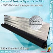 1.48x 15M Hydroponic Reflect Diamond Texture Mylar Hydro Film Grow Tent Material