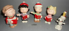 Lenox Peanuts Christmas Caroling NEW Snoopy Linus Lucy Sally Charlie Brown