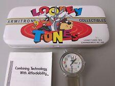 Vintage 1989 Armitron Collectibles Looney Tunes Watch - Bugs Bunny.