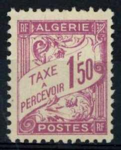 Algeria 1926-8 SG#D249, 1f50 Magenta Postage Due MNH #E90829