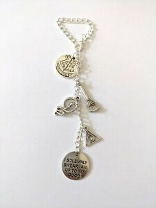 Car mirror hanging charm handmade Harry potter inspired car accessories