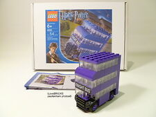 LEGO HARRY POTTER 'MINI KNIGHT BUS' #4695 LIMITED EDITION GIFT BOX 100% COMPLETE