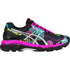 ASICS Women's GEL-Kayano 23 Running Shoes Black / Pink Glow