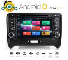Android 8.0  Autoradio für Audi TT 8J RNS Navigation GPS DVD MP3 USB TMC DVB-T