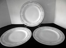 Spring Illusions Reprise Excel Dinner Plates Dishes Tulips 3 Pink Green China
