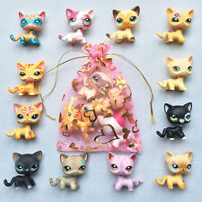 5pcs/bag Random LPS Short Hair Cat Littlest Pet Shop all rare cat Surprise gift
