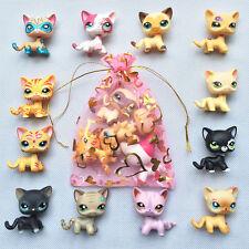 5pcs/bag Random LPS Short Hair Cat Littlest Pet Shop all rare cat Surprise gift