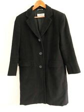 Sportmax by MaxMara Women's Black Wool Coat. Size 10.