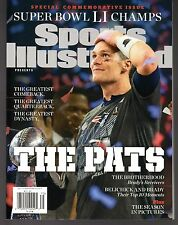 Sports Illustrated 2017 New England Patriots Super Bowl LI Commemorative Brady