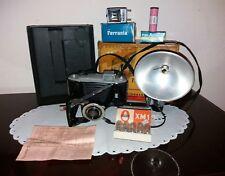kodak anni 40 con flash e scatola originale   PEZZO DA COLLEZIONE