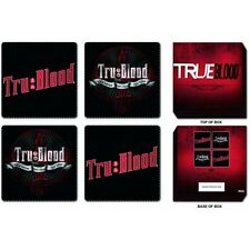 Nuevo True Blood 4 Coaster Set Bebidas Mat Sookie Vampiro Bill Eric Hbo Tv Horror