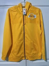 New NBA Los Angeles Lakers Gold Yellow Exclusive Collection Hoodie Jacket XL