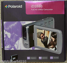 Polaroid ID1880 Full HD 1080p Digital Camcorder Dysfunctional Micro SD Card