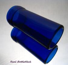 The Real BottleNeck Guitar Slide Custom Glass Tricone National Blues