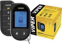 Viper 5706V Car Remote Start & Alarm 1-Mile Range 2-Way LCD Remote 1 Way
