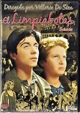 V. De Sica: EL LIMPIABOTAS. V.O.S.E. Tarifa plana en envío dvd España, 5 €