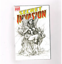 SECRET INVASION #3 Exclusive 3rd print sketch variant by Leinil Yu! NM