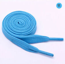 New Flat Canvas Shoe Laces Multi Color Waxed Round Cord Dress Colourful Shoelace