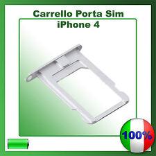 SLOT PORTA SIM TRAY PORTA SCHEDA VASSOIO PER APPLE IPHONE 4 4G 4S Cassettino
