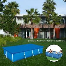 2020 Rectangular Swimming Pool Cover UV-resistant Waterproof Dust Cover NEW
