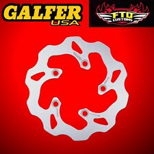 Galfer Rear Solid Wave Rotor For 2001-2017 Suzuki GSXR 1000 DF339W