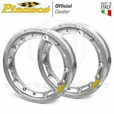 PINASCO COPPIA CERCHI LEGA ALLUMINIO TUBELESS RUOTA 3.50-10 VESPA PX 125 150 200
