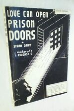 LOVE CAN OPEN PRISON DOORS by Starr Daily ARTHUR JAMES LTD 1979 Reprint PB VG!!!