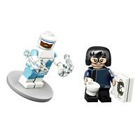 Frozone & Edna Mode Incredibles Lego Disney Series 2 Minifigures 71024 Lot of 2