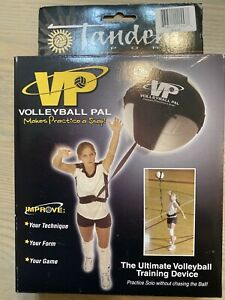 Volleyball Pal - Tandem Sport Volleyball Training Device - Practice Solo Warm Up