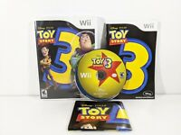 Toy Story 3 (Nintendo Wii, 2010) Complete with Poster - Tested