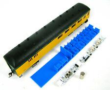 Custom Interior/Lighting Combo for 60' Harriman Combine Coaches HO Scale
