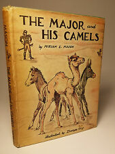 1953 'MAJOR & HIS CAMELS' 1ST DJ ZHENYA GAY ILLUST PRE-CIVIL WAR CALIFORNIA TALE
