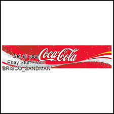 Fridge Fun Refrigerator Magnet COCA COLA LOGO BANNER - Version A - Coke