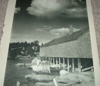 1946 Photo Print EARLY SPRING & WATER'S EDGE Boothbay Harbor Maine Connecticut