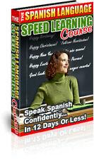 Speak Spanish + Fedback + 10  Bonus Ebook + Resell Rights