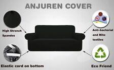 Anjuren High Elastic Anti-Mite Dark Blue  Sofa Cover