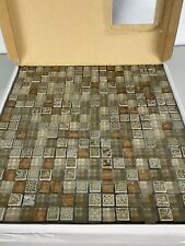 New ListingGlass Mosaic Tiles VitrexMosaici by Casa Italia Antica Roma Copper New Full box